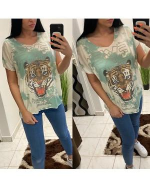 Dámske tričko tiger