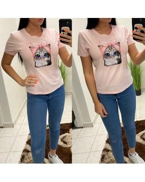 Dámske tričko cat