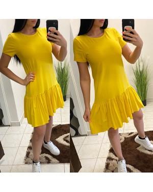 Volánkové šaty